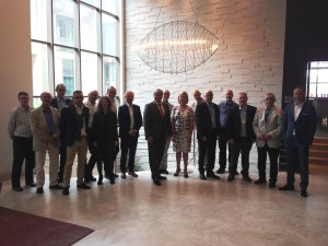 The EFCA Board at the 2015 General Assembly in Istanbul